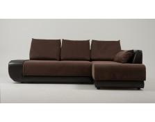 Диван угловой Нью-Йорк (Поло) Textile Brown